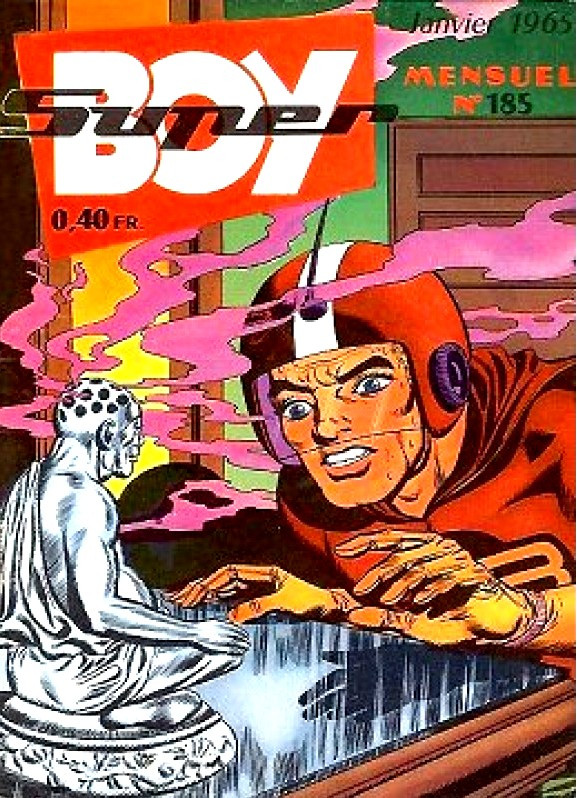 Superboy 185