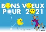 bons voeux pour 2021 f
