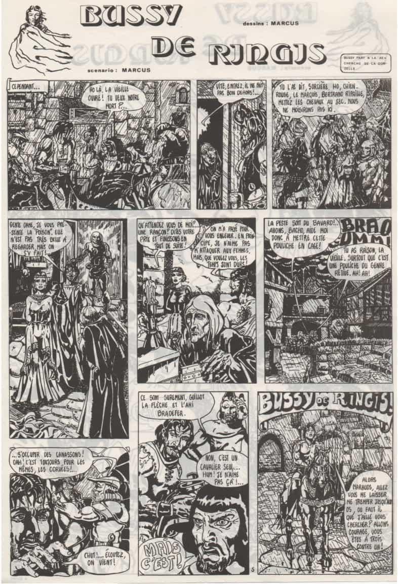 « Bussy de Ringis » Falatoff n° 3 (12/1971).