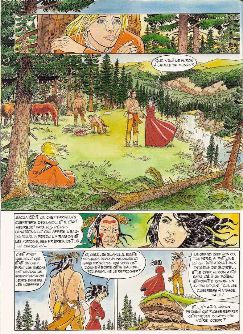 « Le Dernier des Mohicans » pour Adonis, en 2007 (adaptation de Marc Bourgne).