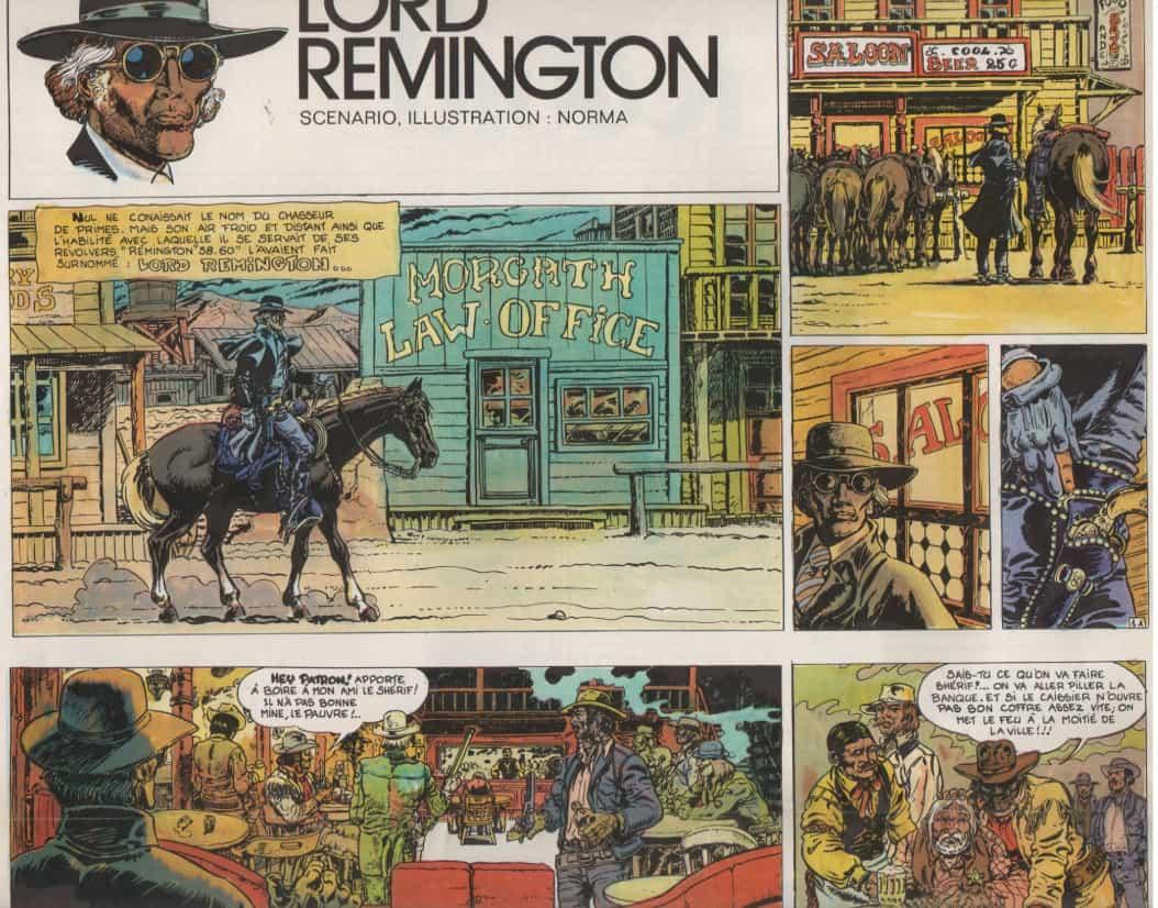 « Lord Remington » Record n° 1 (01/1974).