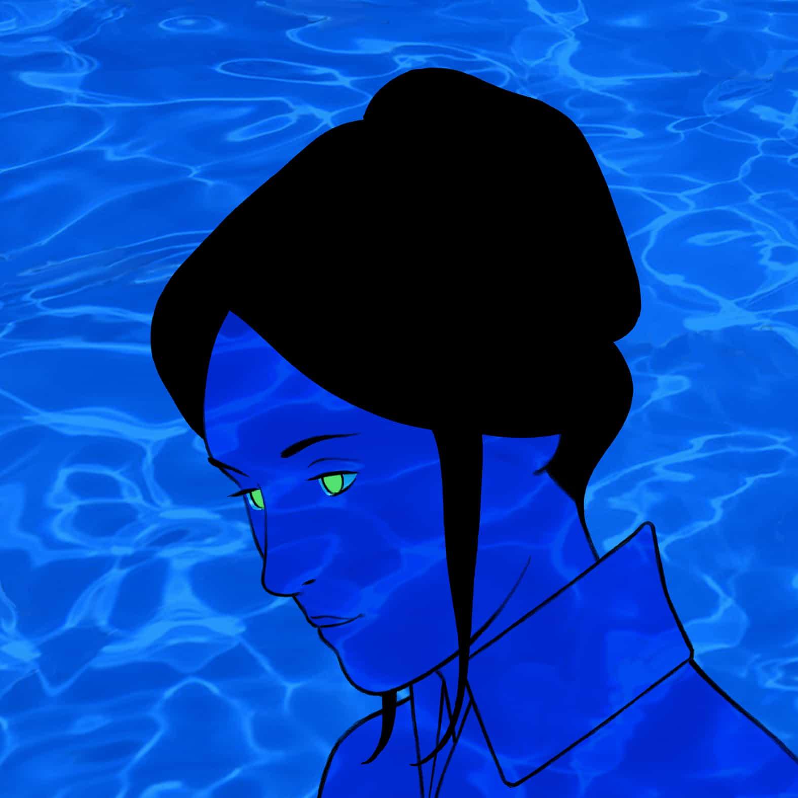 Pochette cocoon Blue Night.