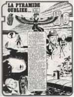 Une grande page illustrée résume la première partie dans le n° 9.