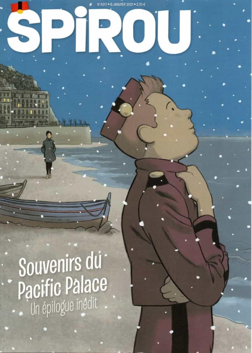 Les Mémoires de Spirou... (Spirou n° 4317 - Dupuis - 6 janvier 2021).