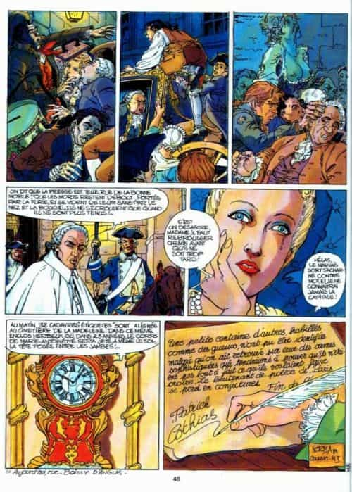 « Souvenirs de la pendule » éditions Glénat (1989).