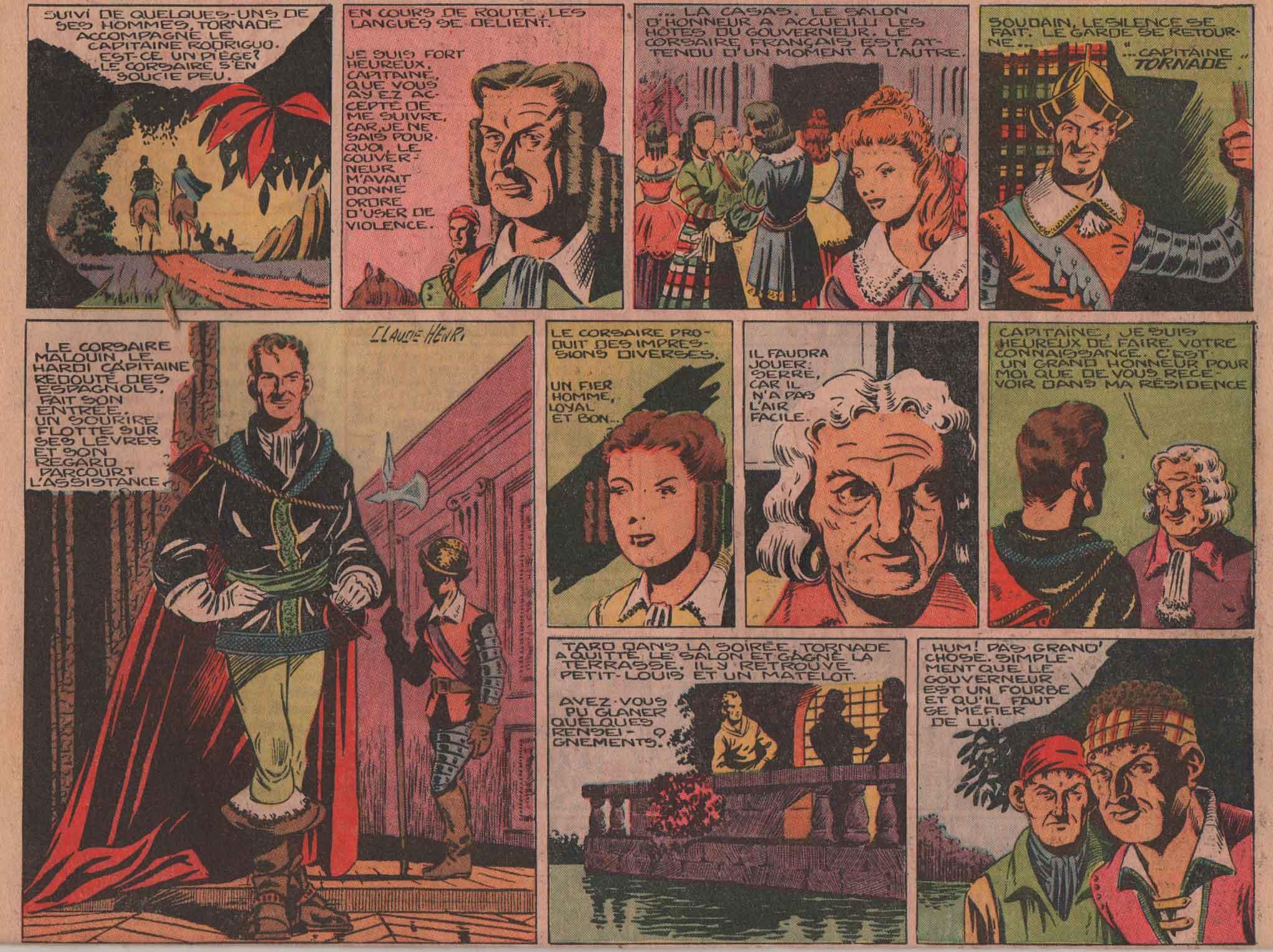 « Capitaine Tornade » Zorro n° 153 (15/05/1949).