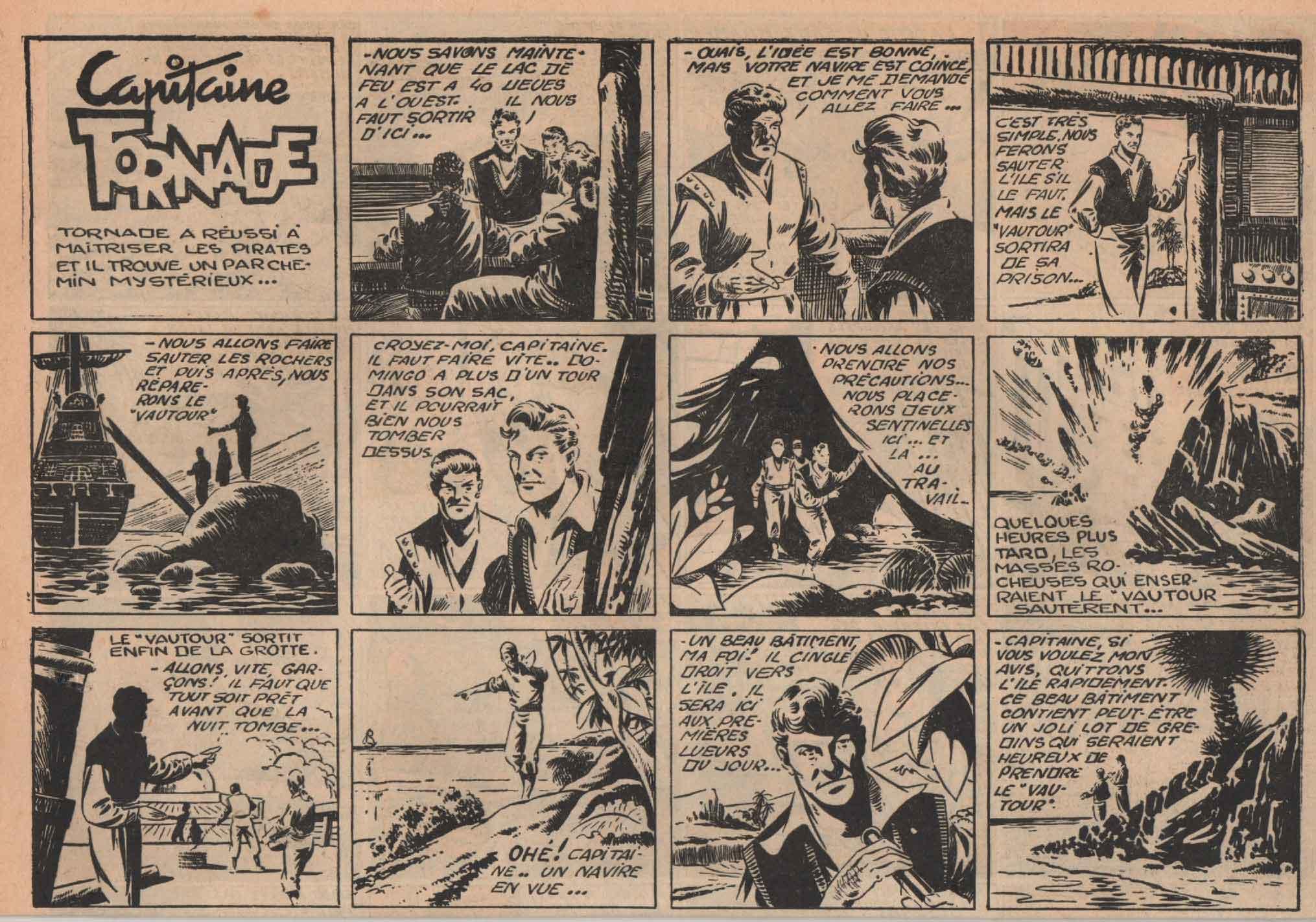 « Capitaine Tornade » Zig Zag/Zorro n° 6 (décembre 1952).