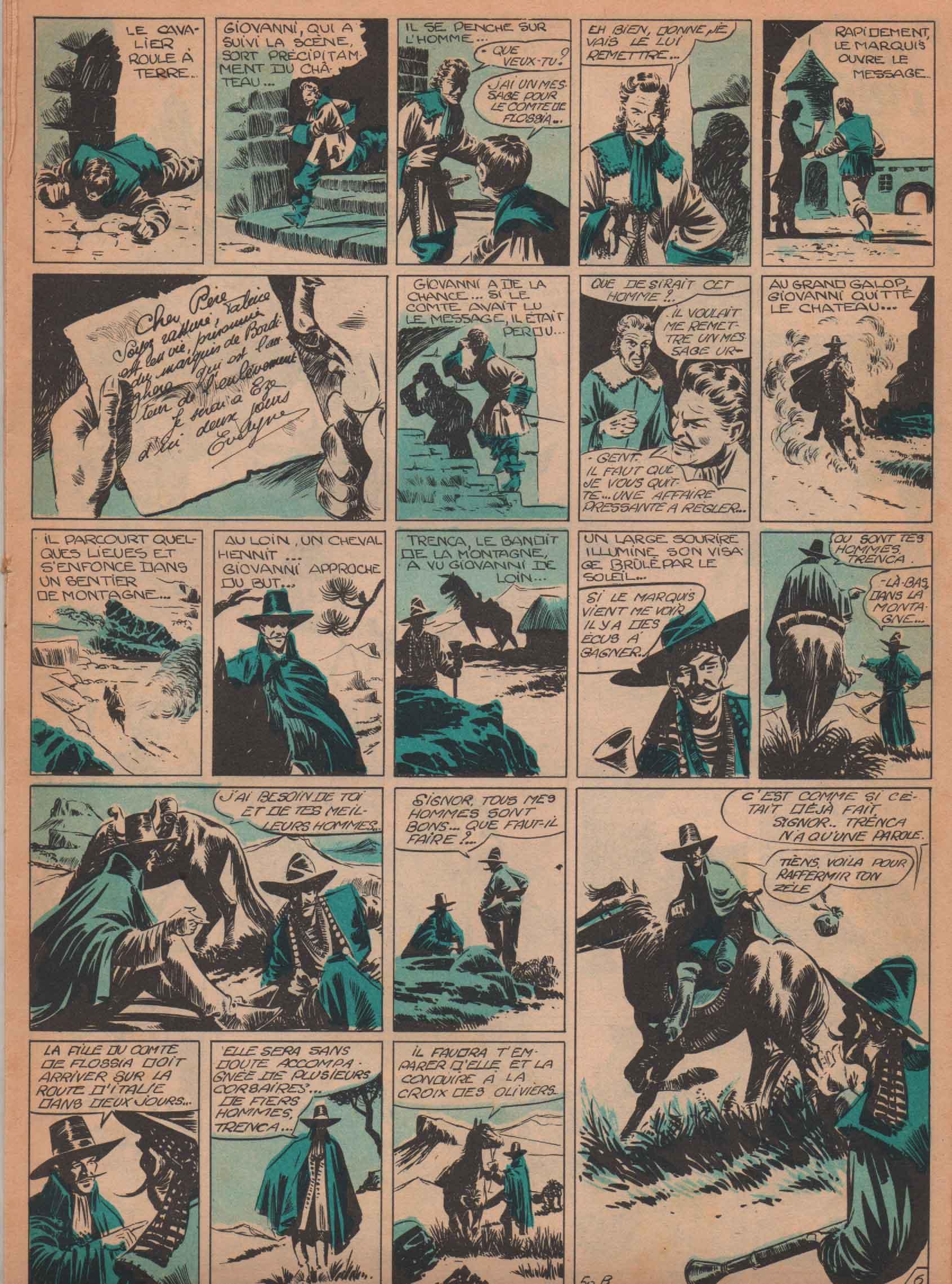 « Capitaine Tornade » L'Invincible n° 50 (12/10/1953).