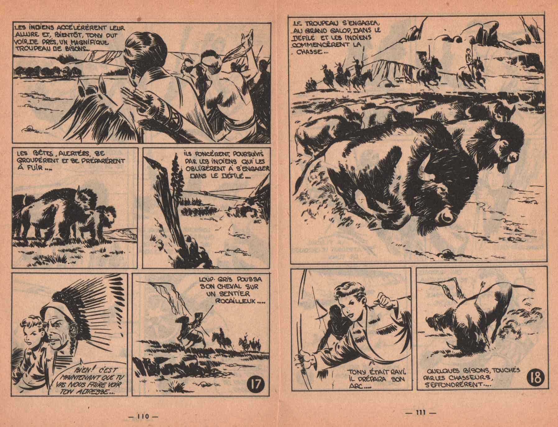 « Le Dernier Chariot » Presto n° 7 (07/1955).