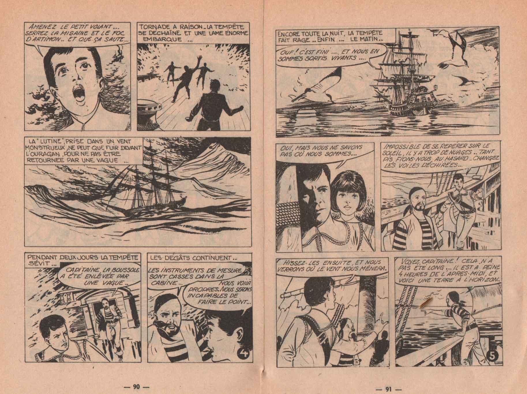« Capitaine Tornade » Amigo n° 33 (12/1967).