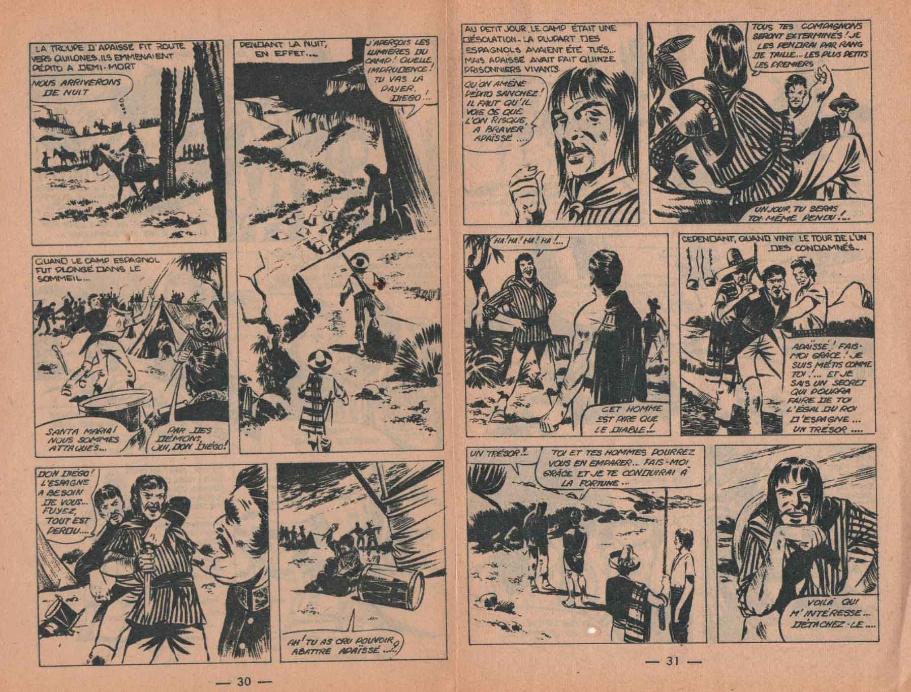 « Le Trésor de la caverne » Lasso n° 13 (12/1959).