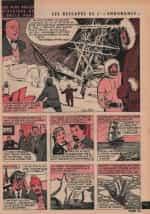 « Oncle Paul : Les Rescapés de L'Endurance » Spirou n° 1203 (04/05/1961).