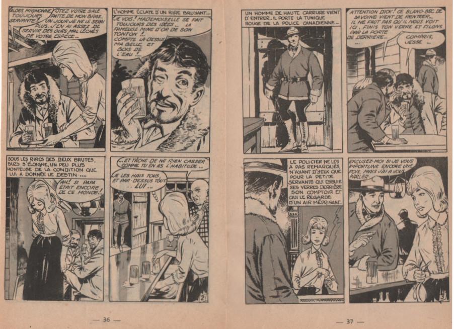 « La Tunique rouge » Frimousse n° 156 (29/09/1964).