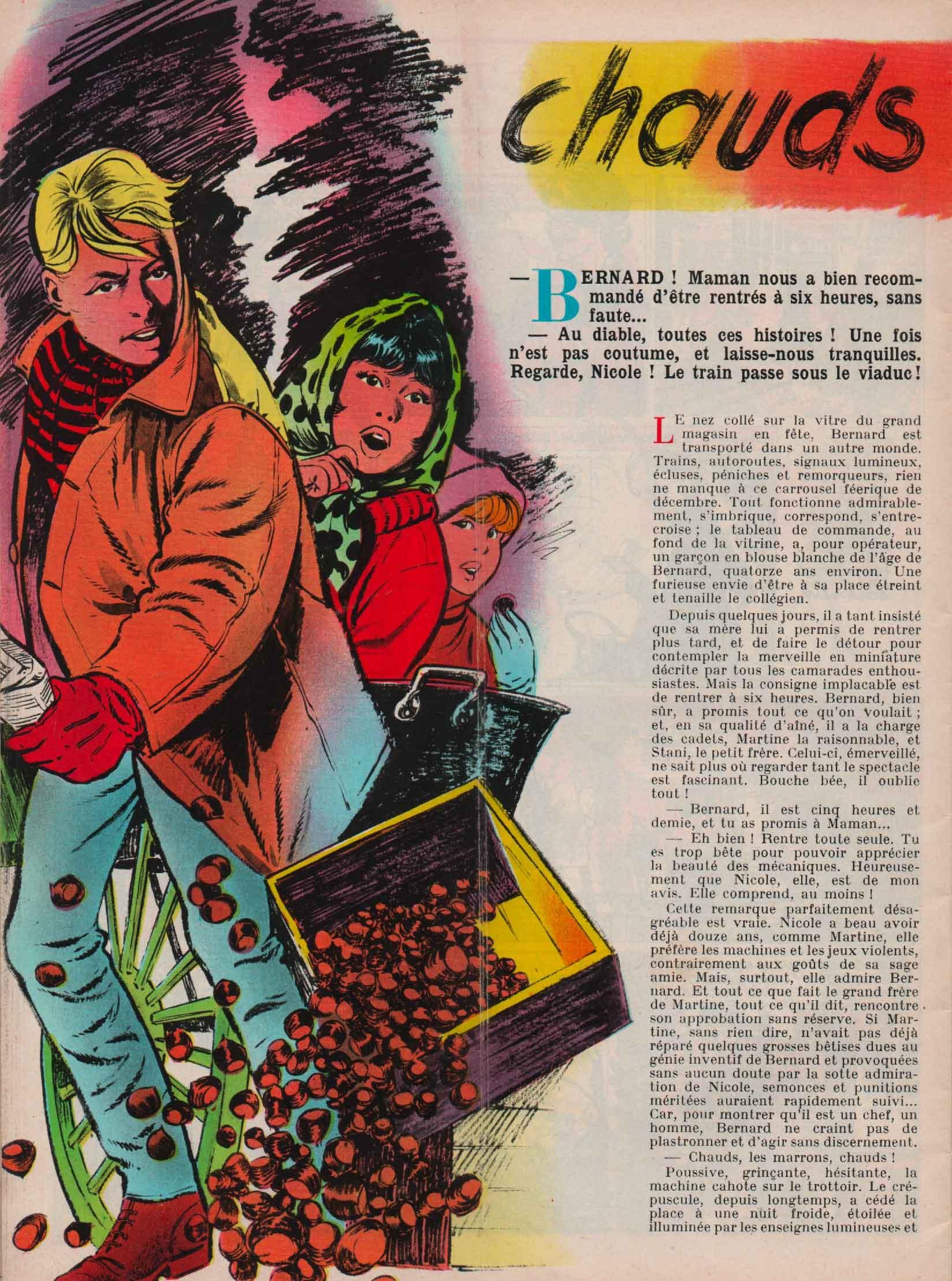 Illustration J2 magazine n° 1 (07/01/1965).