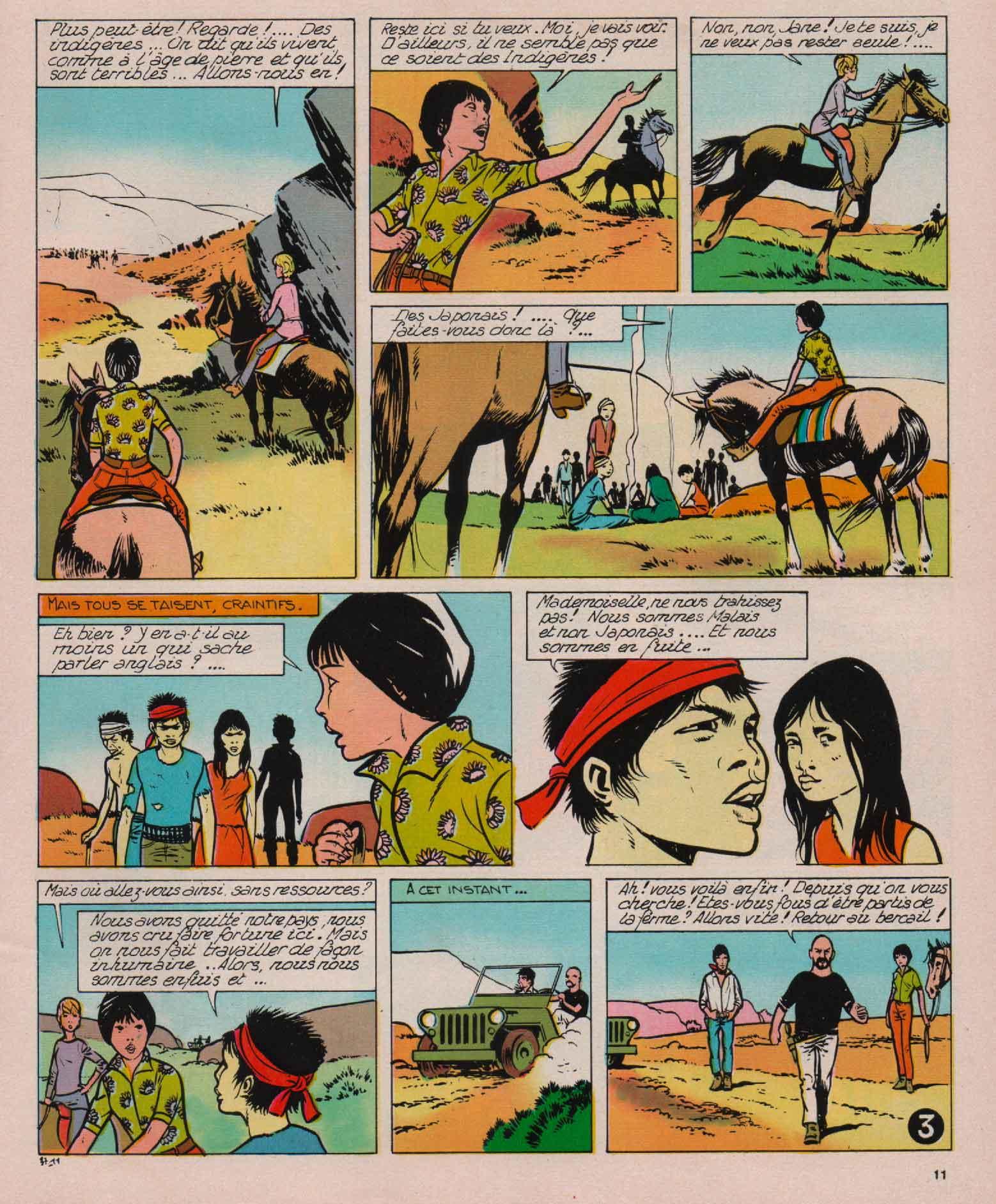 « Flower Jane » J2 magazine n° 38 (17/09/1970).