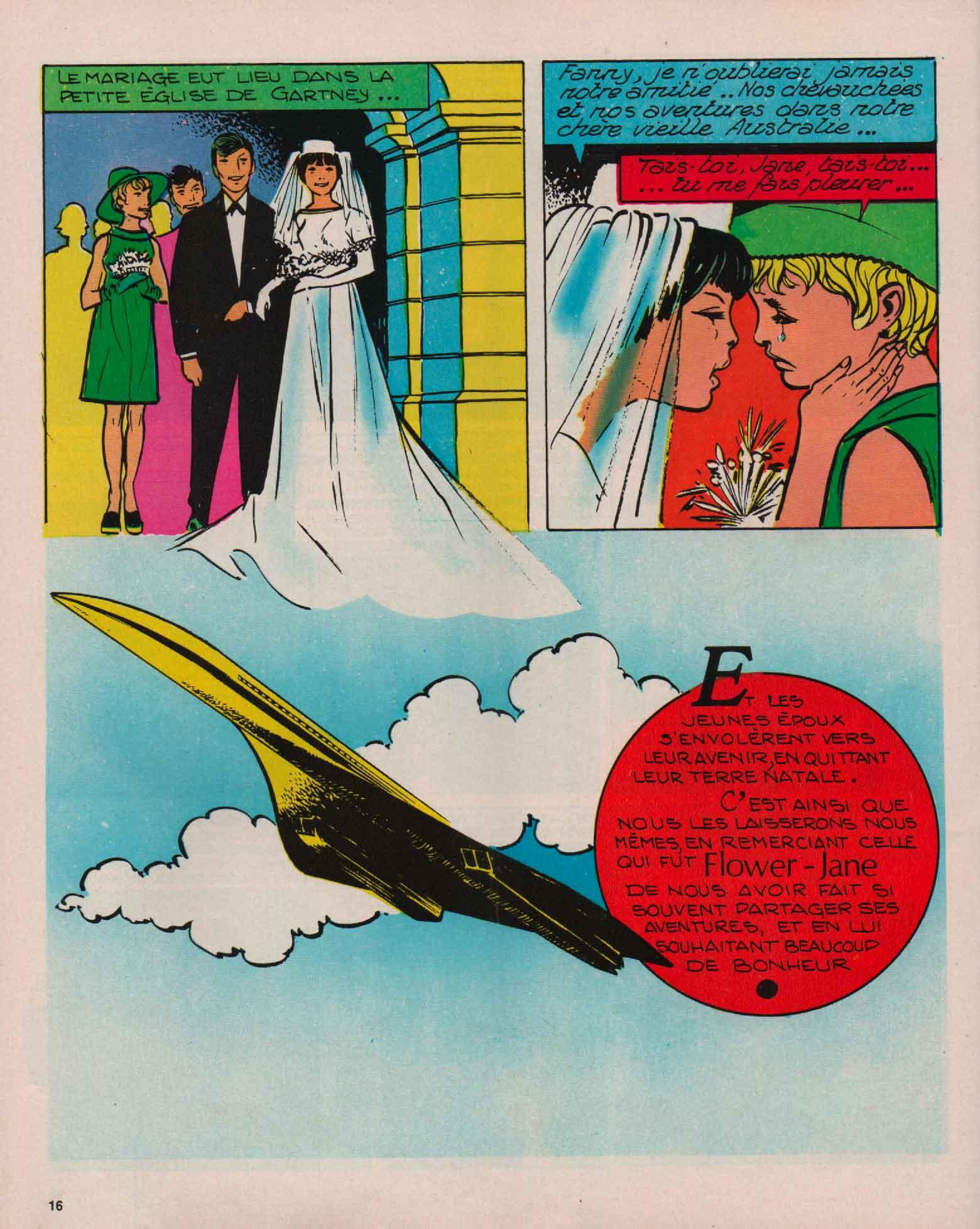 « Flower Jane » J2 magazine n° 8 (20/02/1974).