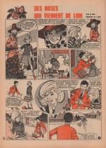 « Des Roses qui viennent de loin » Lisette n° 24 (13/06/1965).