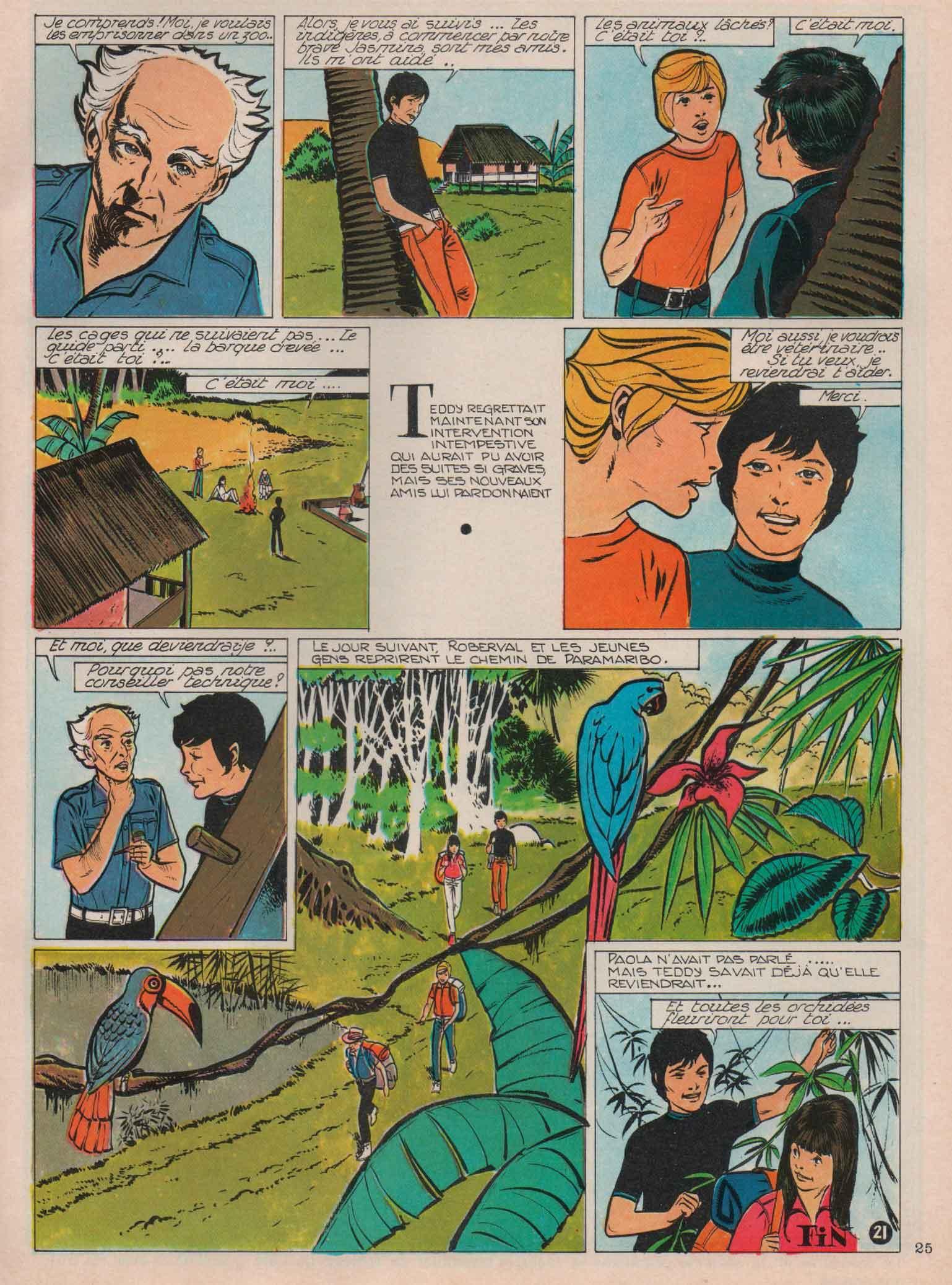 « Paramaribo » Lisette n° 39 (26/09/1971).
