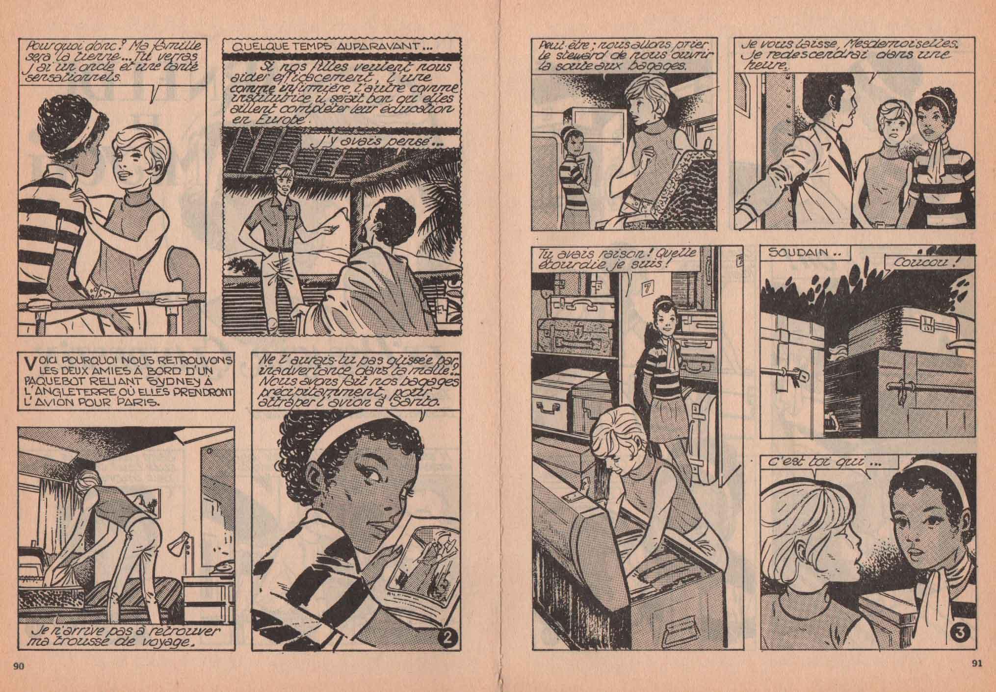 « Arnelde et Meyoti » Lisette magazine n° 75 (10/1972).