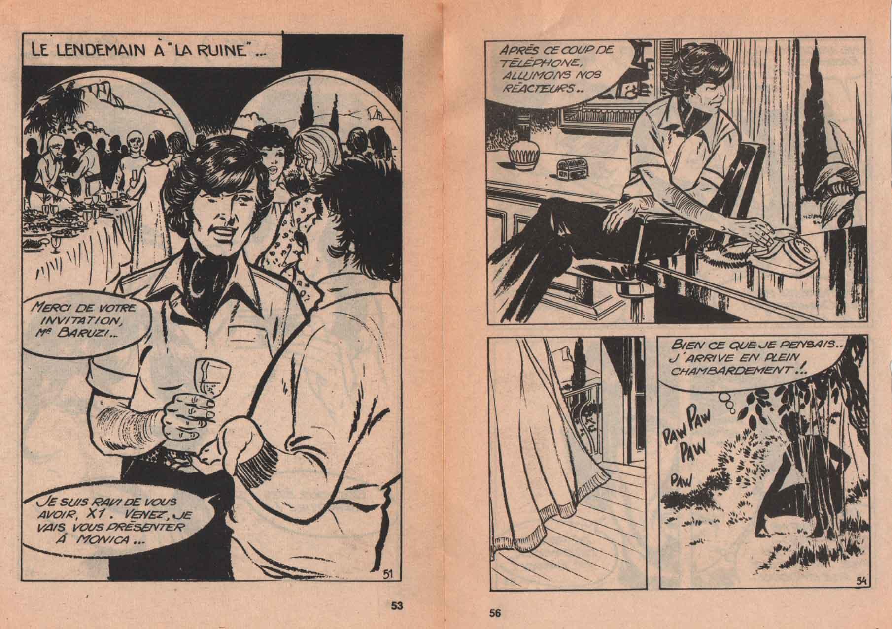« Xavier Humbert » Agent spécial n° 66 (06/1975).