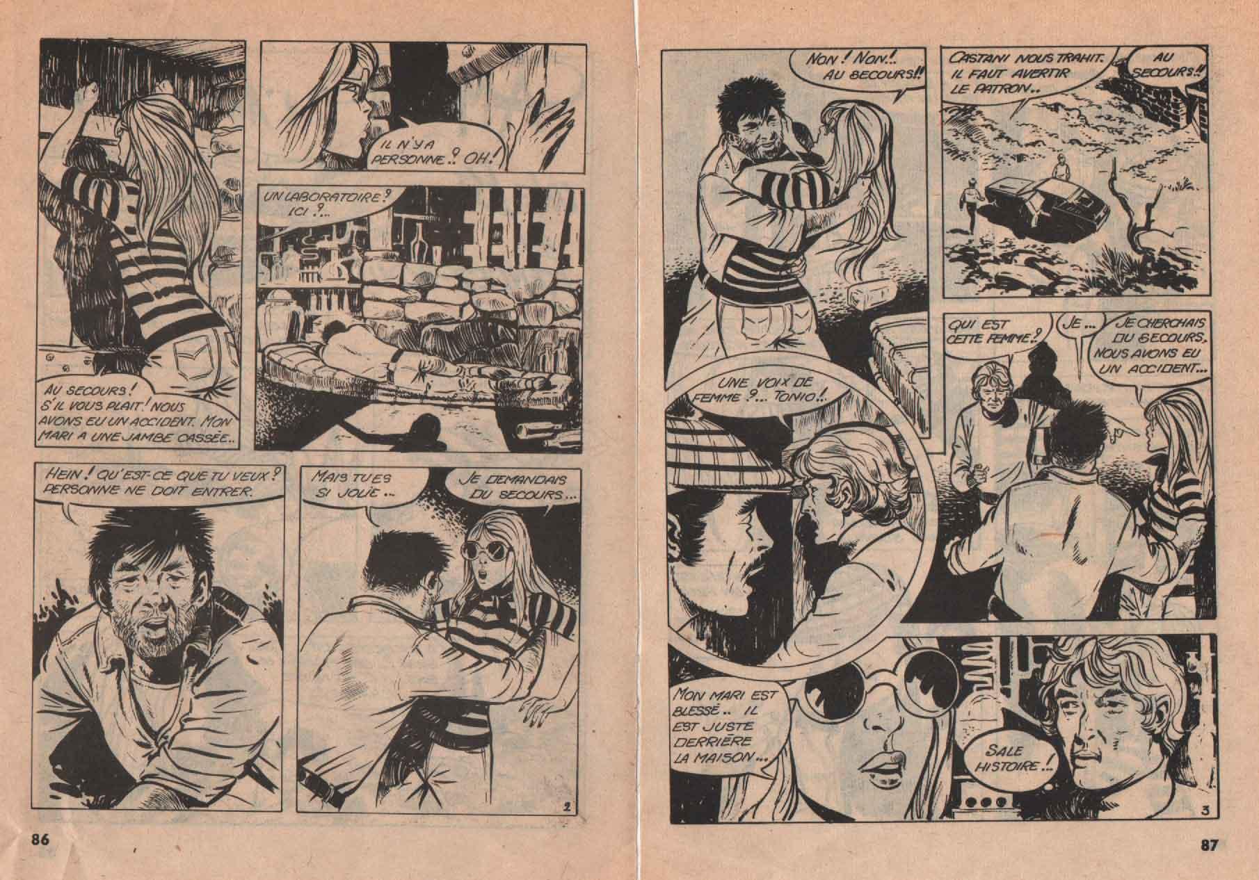 « Comoing » Vautour n° 50 (1976).