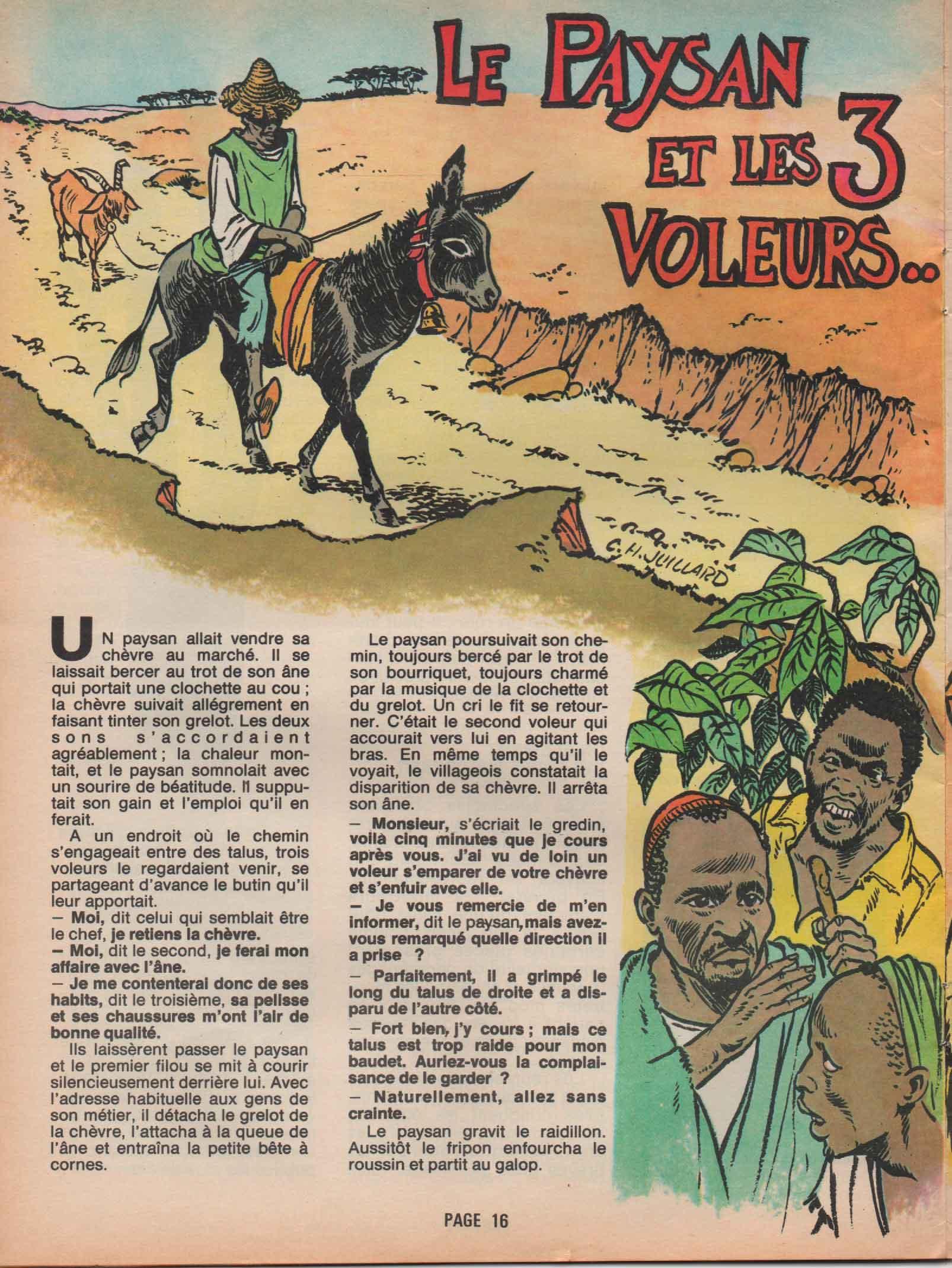 Illustration Kouakou n° 86 (02/1981).