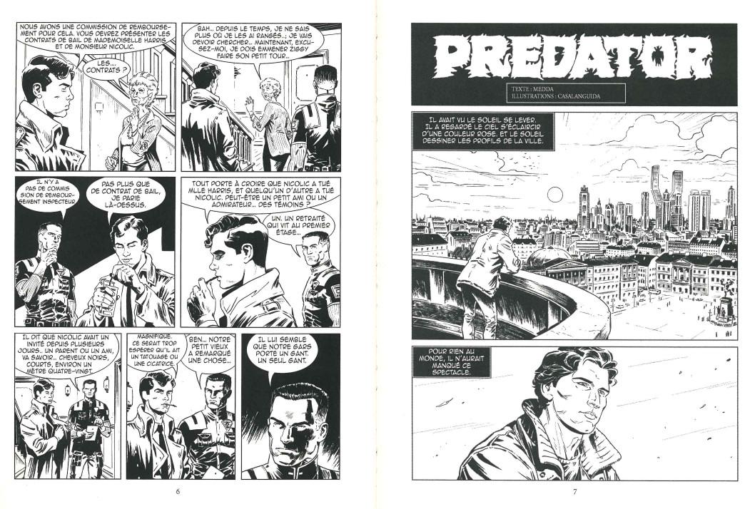 Lukas n° 2 : «Predator» par Luca Casalanguida et Michele Medda.