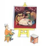 Marie est une peintre talentueuse !