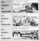 « Pionniers de l'impossible », avec Robert Bressy, Le Nouvelliste de Trois-Rivières [Québec] (1986).