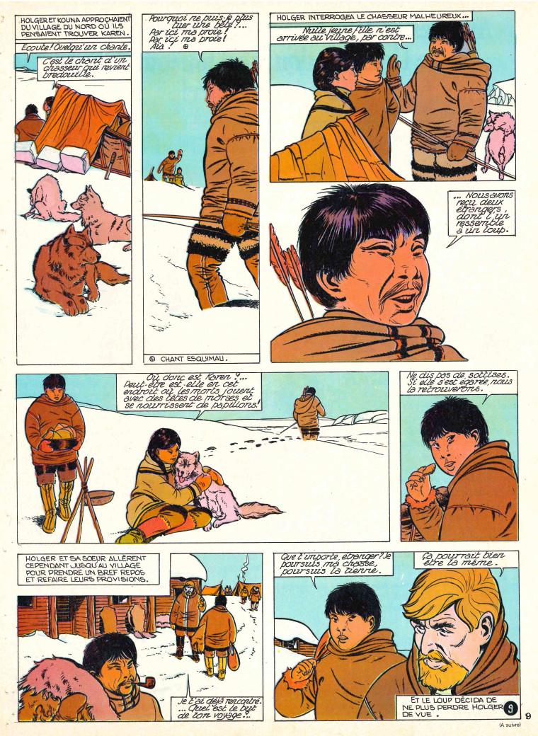 « Sept Chiens et un secret » Lisette n° 3 (18/01/1970).