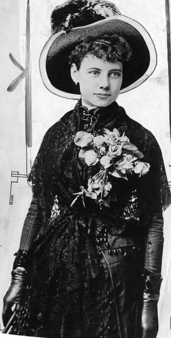 Nellie Bly vers 1889.