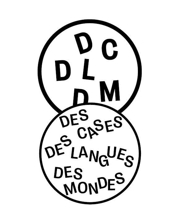 logo collection des cases des langues des mondes