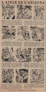 « L'Aigle de l'Arizona » L'Épatant n° 1 (19/04/1951).