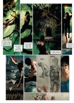La naissance de Tarzan (planches 10 et 12 - Soleil, 2021).