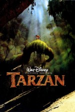 Affiche pour le film d'animation Disney « Tarzan » (Kevin Lima et Chris Buck, 1999).