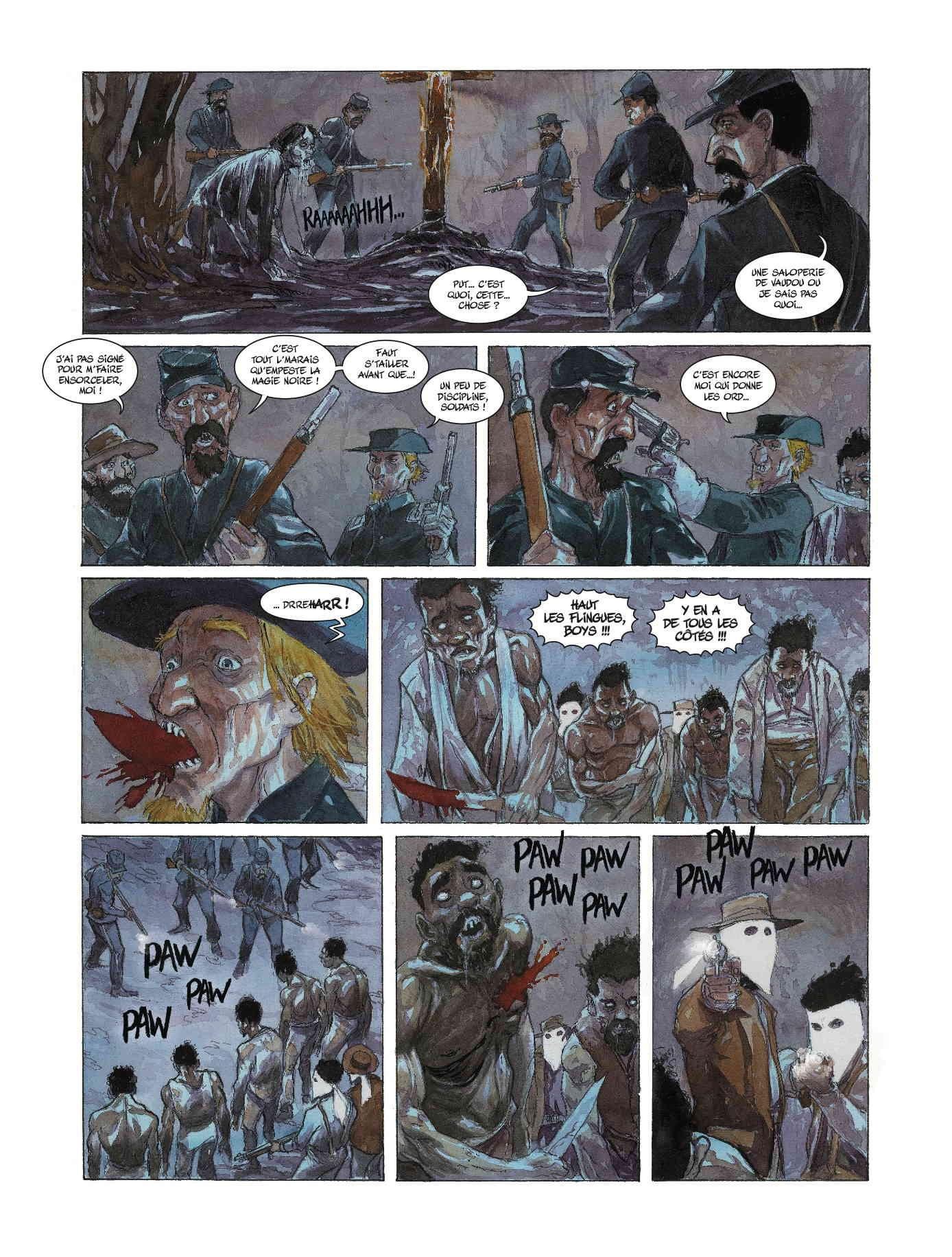 Le Klan contre les zombies.