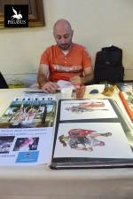 Vincent Pompetti au festival Bulleberry de Bourges en 2016.