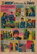 « Dany hôtesse de Paris » Mireille n° 257 (07/01/1959).