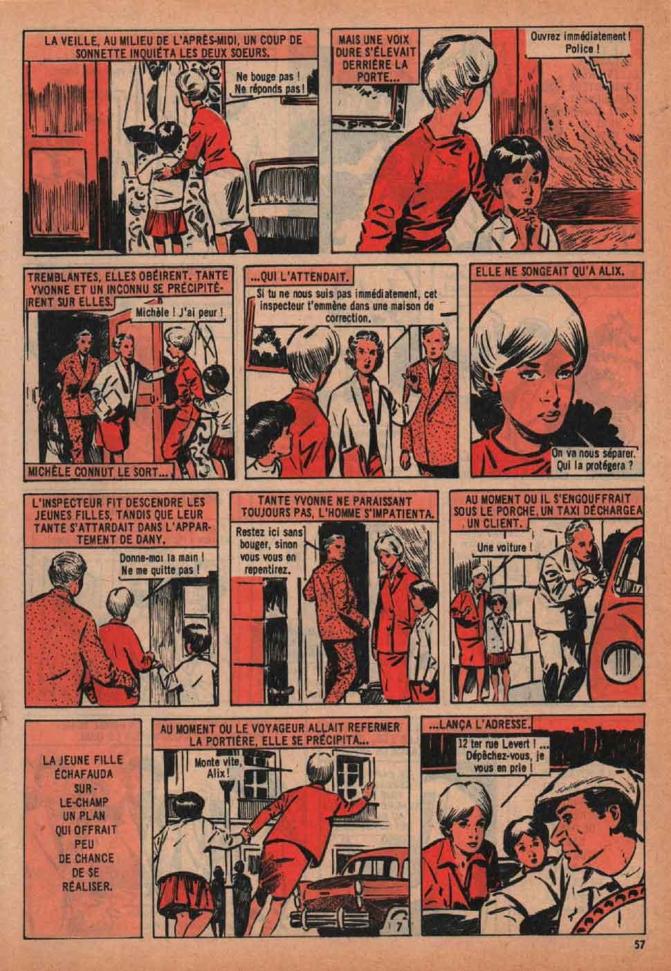 « Dany hôtesse de Paris » Mireille n° 326 (15/11/1960).