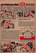 « La Preuve pas Seb » Âmes vaillantes n° 17 (24/04/1960).