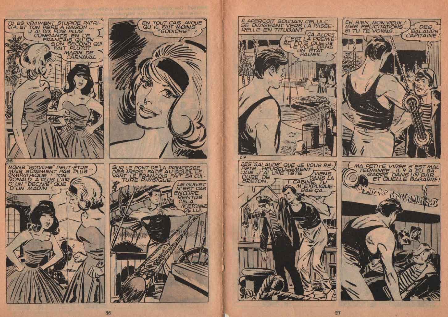 « Croisière sans escale » Frimousse n° 123 (20/04/1963).
