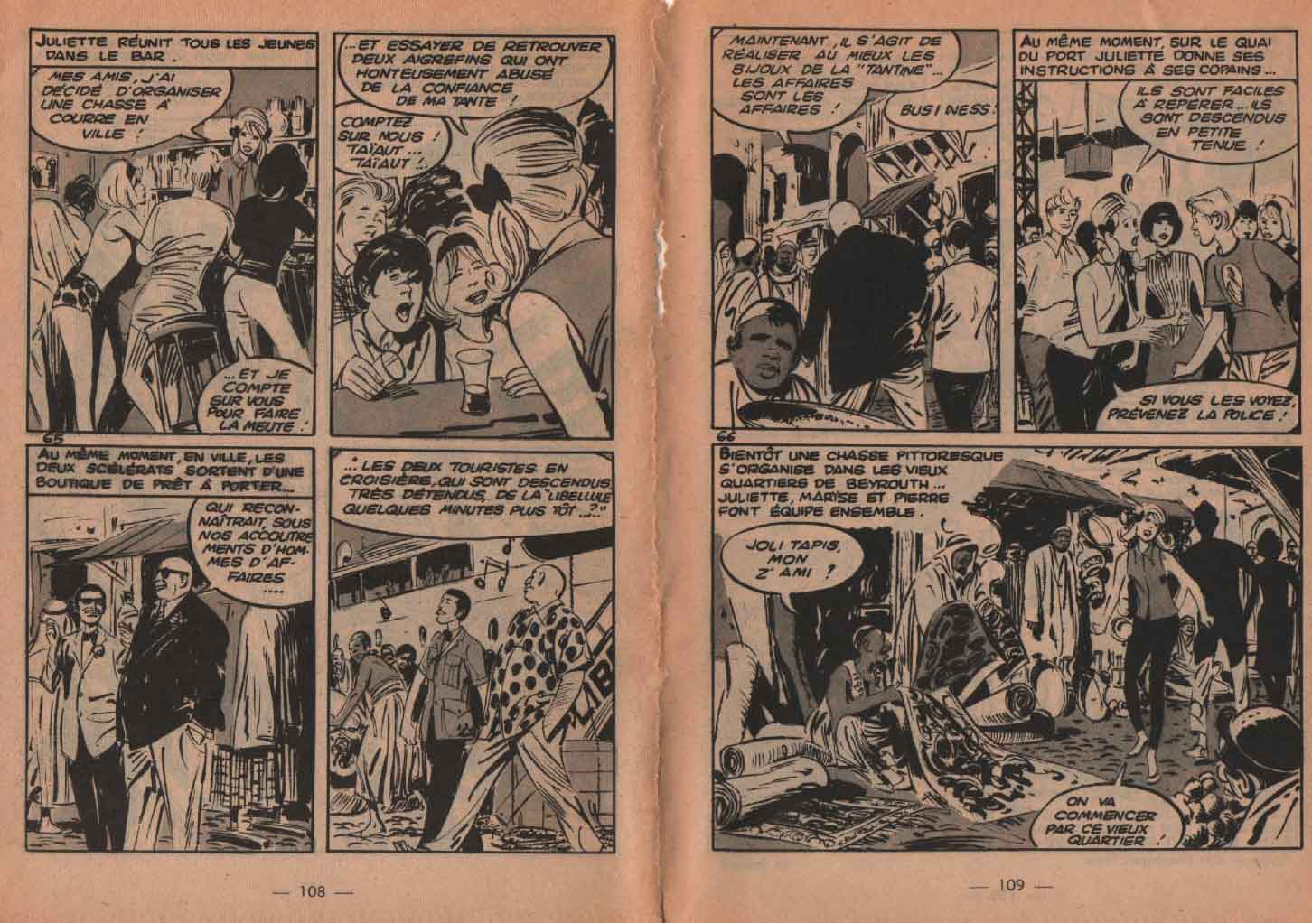 « Croisière surprise » Frimousse n° 154 (01/09/1964).
