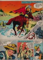 « Mademoiselle d'Artagnan » Journal de Mickey n° 1105 (19/08/1973).
