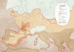L'Europe au temps du Solutréen.