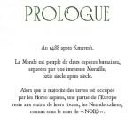 Mégafauna prologue