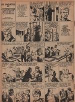 « Les Enquêtes du sergent O'Brien » : L'Invincible n° 123 (1° trimestre 1955).