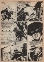 « Zorro : Les Espions » : Zorro géant n° 3 (1986).