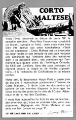 Pif 59 - Editorial RIEU sur CORTO