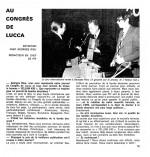 Remise du prix Yellow Kis à Lucca par Georges Rieu dans Pif n° 97 (12/1970).