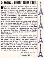 Lettre de Georges Rieu dans Pif gadget n° 9;